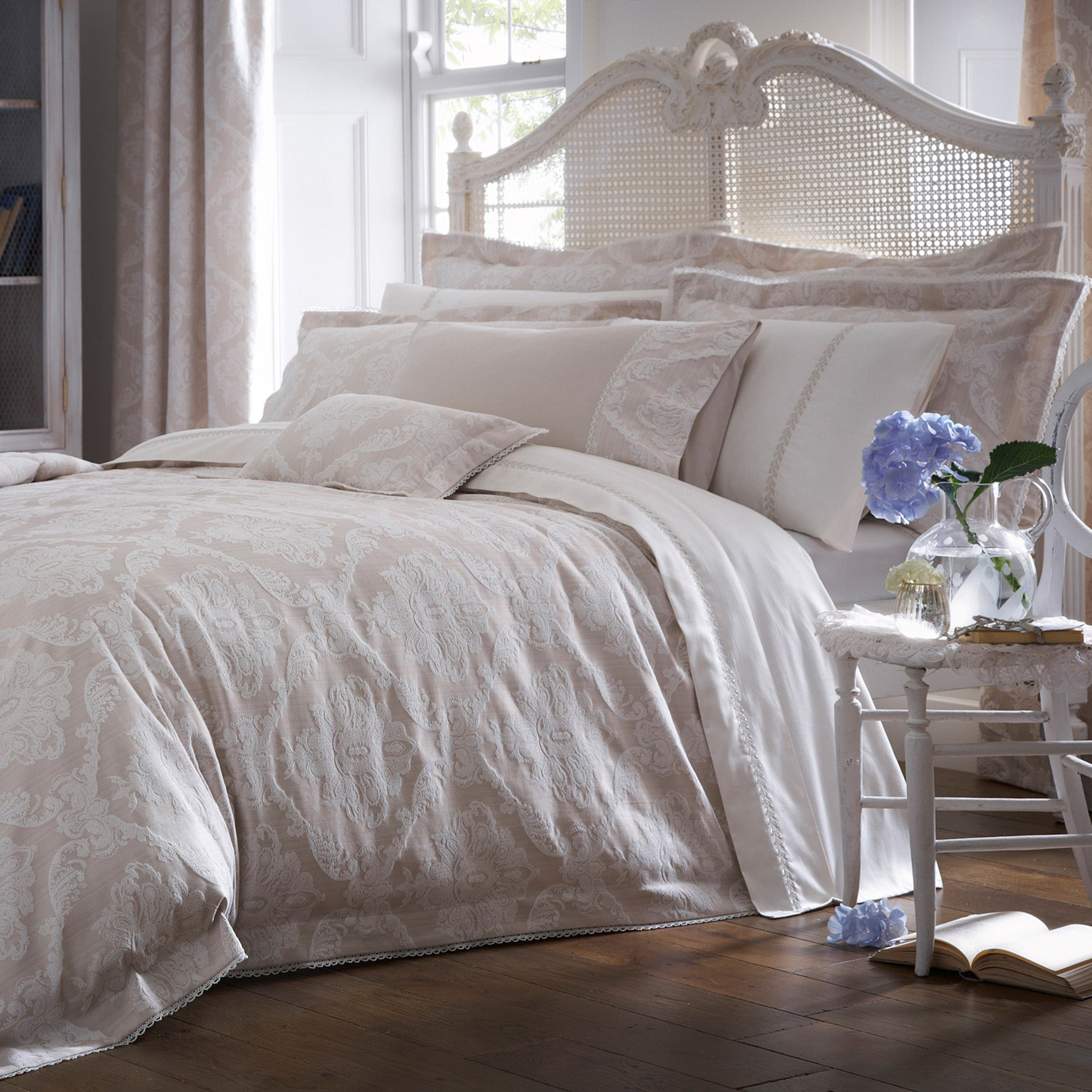 Dorma Natural Aveline Bed Linen Collection
