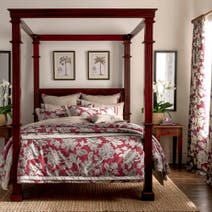 Dorma Red Samira Bed Linen Collection