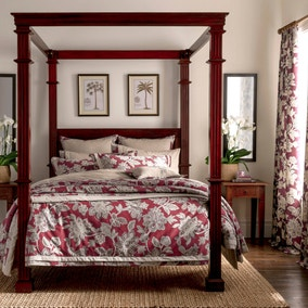 Dorma Samira Red Bed Linen Collection