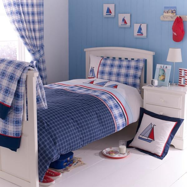 Blue Sail Away Bed Linen Collection