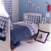 Sail Away Blue Bed Linen Collection