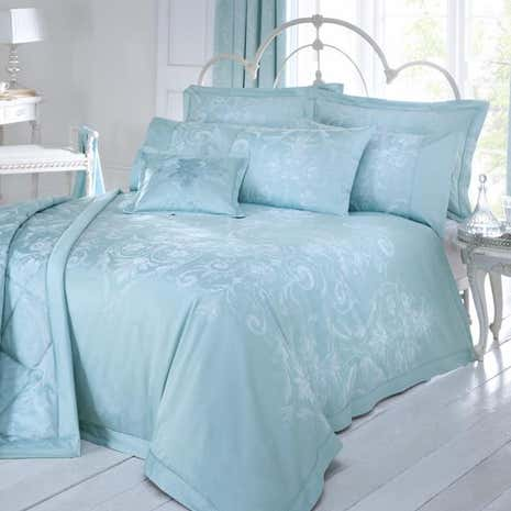 Dorma Regency Duck Egg Bed Linen Collection Dunelm