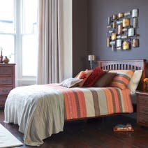 Terracotta Mizar Bed Linen Collection