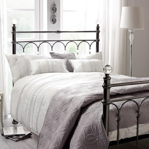 Evangeline White Bed Linen Collection
