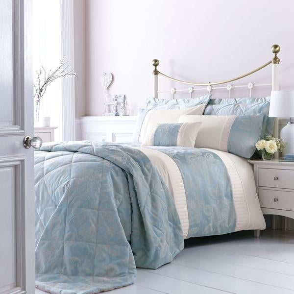 Olivia Duck Egg Bed Linen Collection