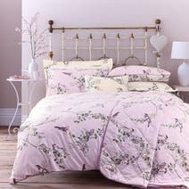 Heather Beautiful Birds Bed Linen Collection