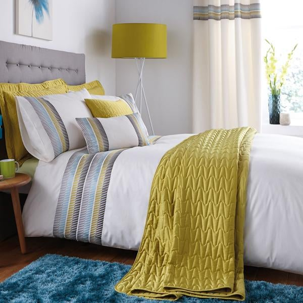 Montreal Teal Bed Linen Collection