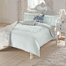 Duck Egg Vintage Paris Bed Linen Collection