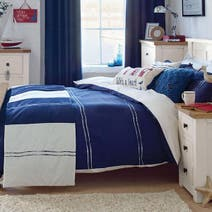 Navy Hampton Bed Linen Collection