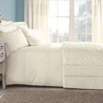 Cream Chloe Rose Bed Linen Collection