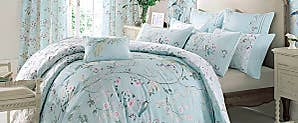 dorma maiya duck egg wallpaper dunelm. Black Bedroom Furniture Sets. Home Design Ideas
