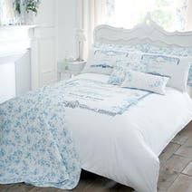 Blue Jasmine Bed Linen Collection