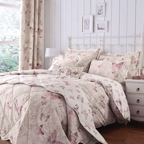 Botanica Butterfly Blush Bed Linen Collection