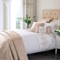 Gold Alura Bed Linen Collection