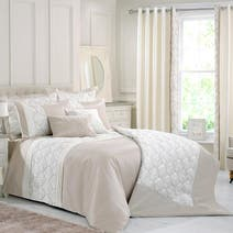 Champagne Lalique Bed Linen Collection