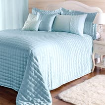 Duck Egg Eliza Sparkle Bed Linen Collection