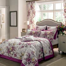 Dorma Pink Camilla Bed Linen Collection