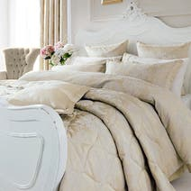 Dorma Cream Clara Bed Linen Collection