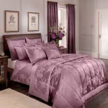 Dorma Plum Jasmina Bed Linen Collection