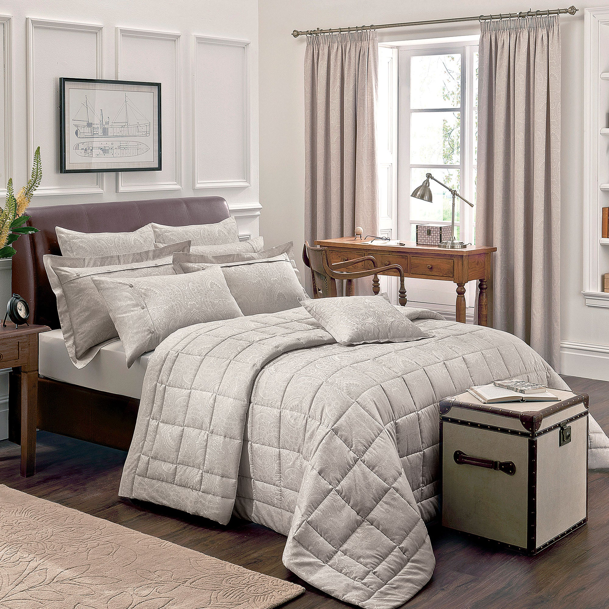 Dorma Paisley Natural Bed Linen Collection