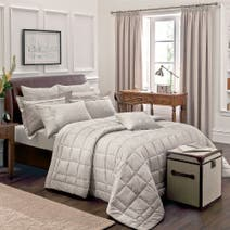 Dorma Natural Paisley Bed Linen Collection