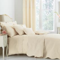 Cream Ebony Bed Linen Collection