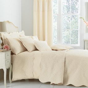 Ebony Cream Bed Linen Collection