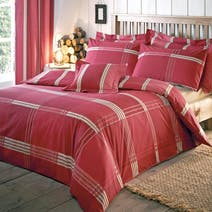 Red Blake Bed Linen Collection