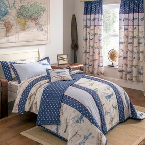 Dorma Kids Vintage Plane Bed Linen Collection