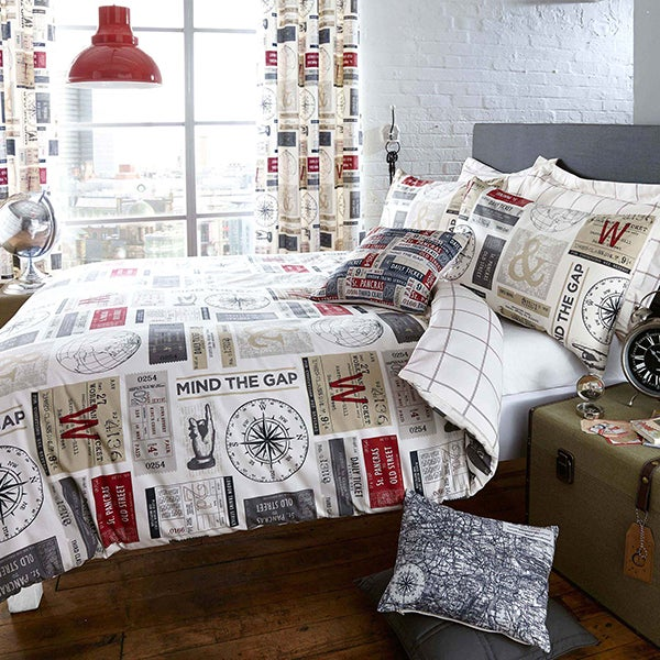 Salvage Ticket Bed Linen Collection