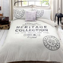 Natural Heritage Label Bed Linen Collection