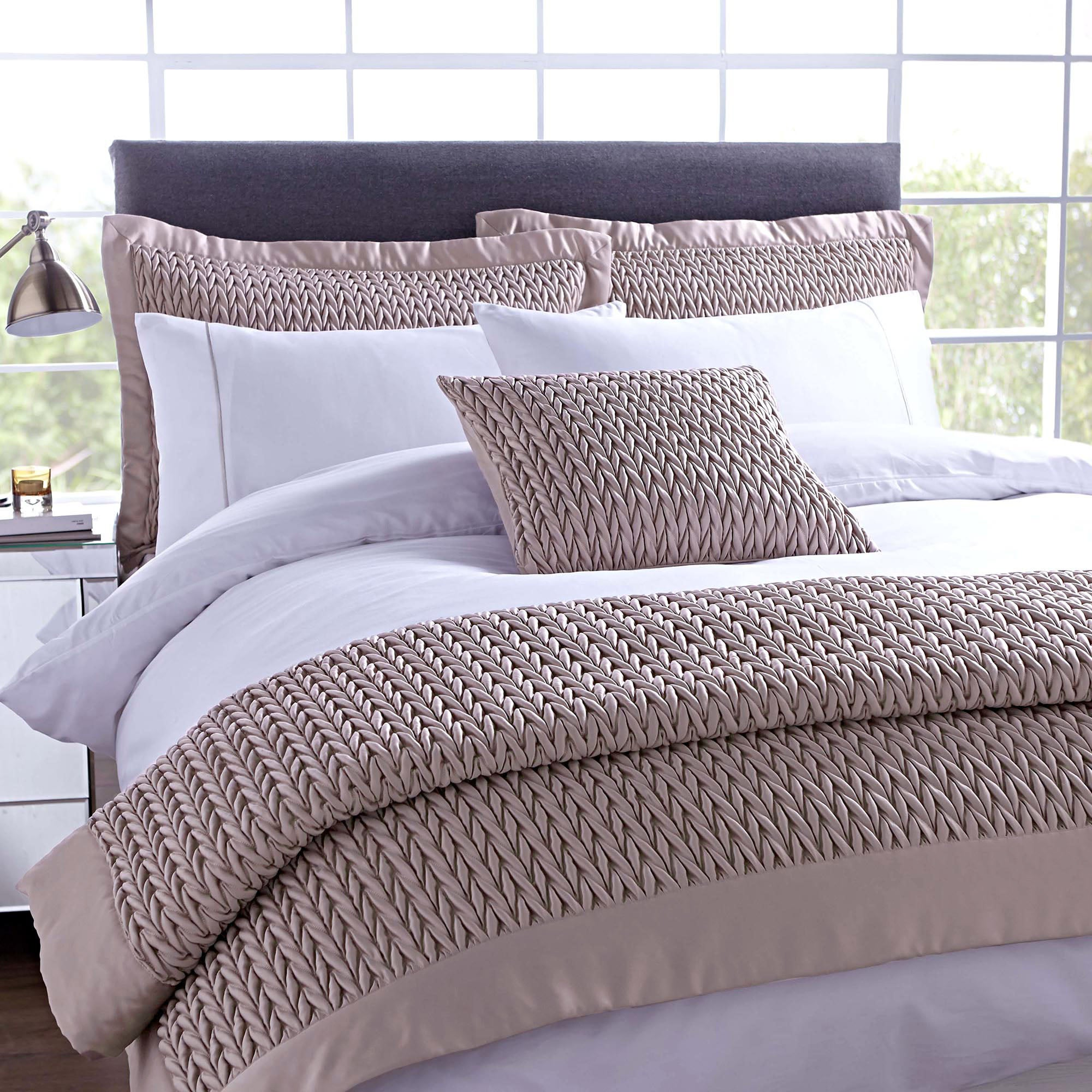 Hotel Piccadilly Champagne Bed Linen Collection
