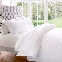 White Dorma 1000 Thread Count Bed Linen Collection