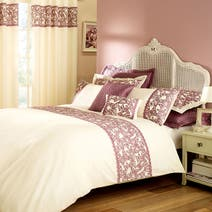 Evie Heather Butterfly Bed Linen Collection