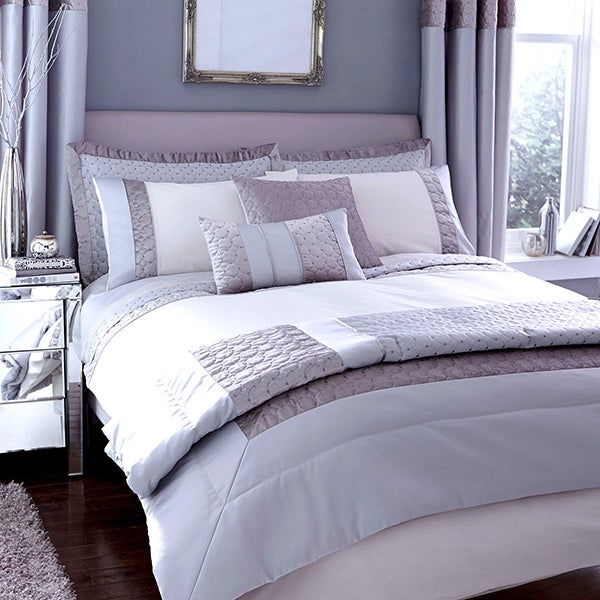 Vienna Silver Bed Linen Collection