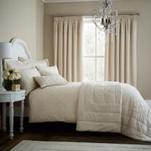 Antique Lace Cream Bed Linen Collection