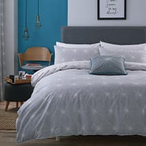 Elements Grey Spiro Bed Linen Collection