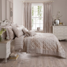 Laura Natural Jacquard Bed Linen Collection