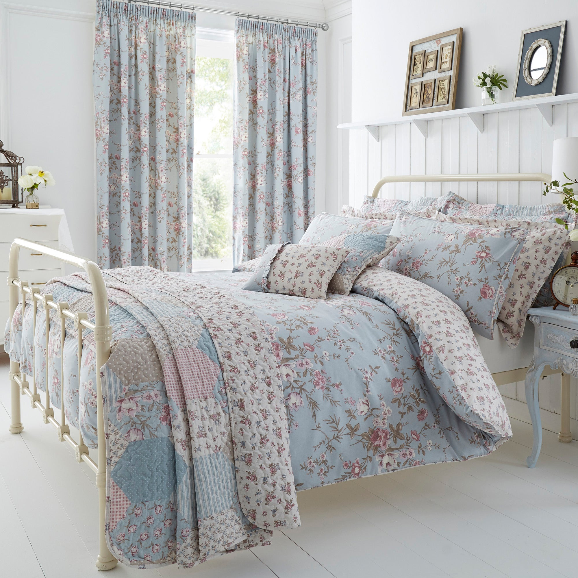 Bethany Duck Egg Bed Linen Collection