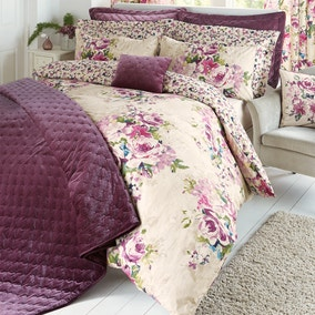 Misty Moors Plum Bed Linen Collection