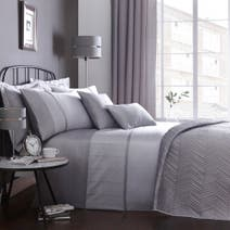 Owen Grey Bed Linen Collection