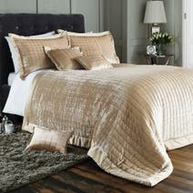 Oxford Champagne Bed Linen Collection