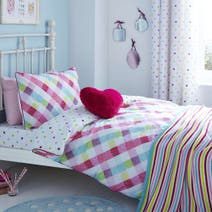 Amelia Check Bed Linen Collection