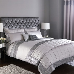 Astoria Silver Bed Linen Collection
