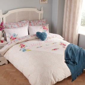 Aubrey Natural Bed Linen Collection