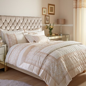 Claudia Gold Bed Linen Collection
