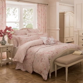 Dorma Paradise Blush Bed Linen Collection