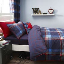 George Check Bed Linen Collection