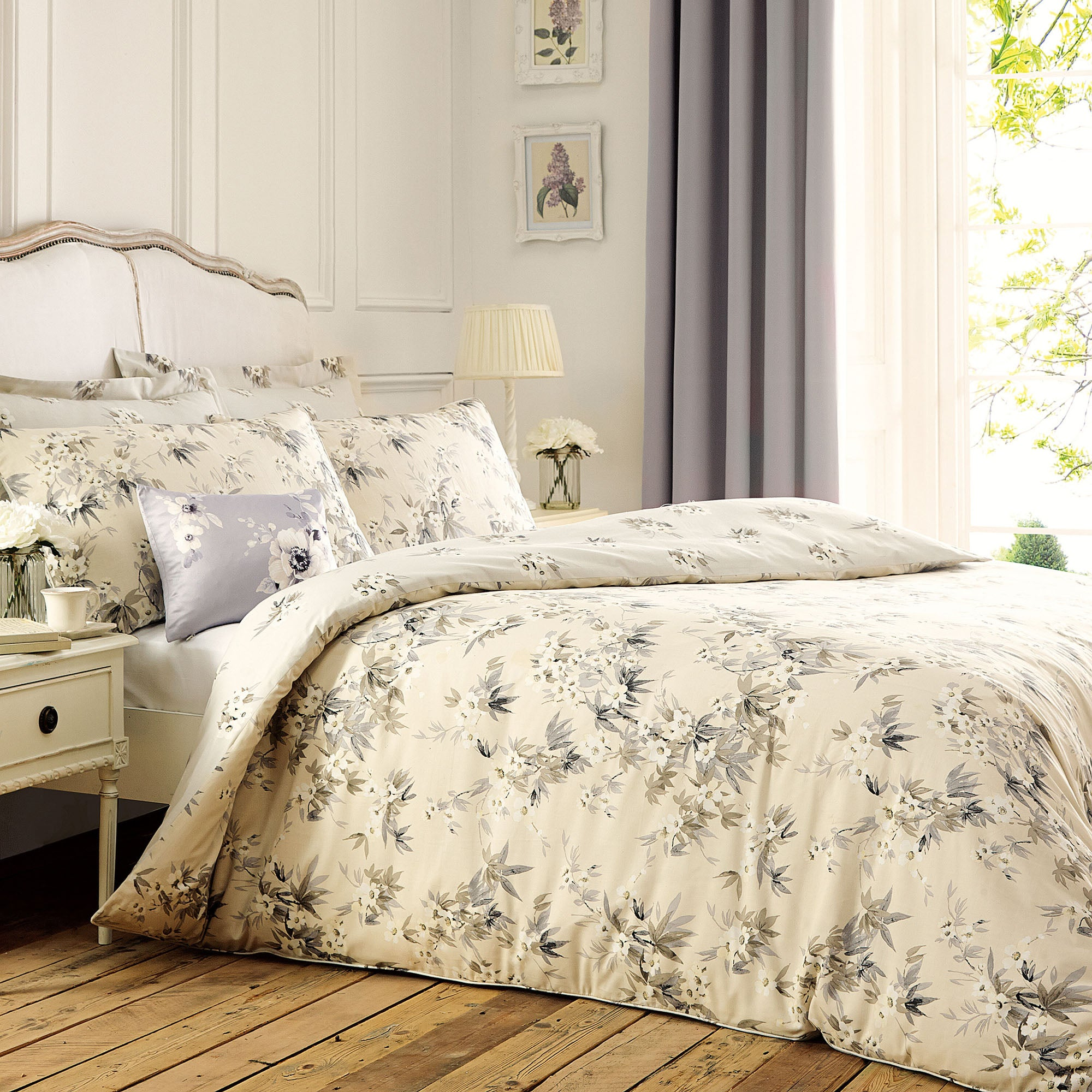 Ishmani Natural Bed Linen Collection