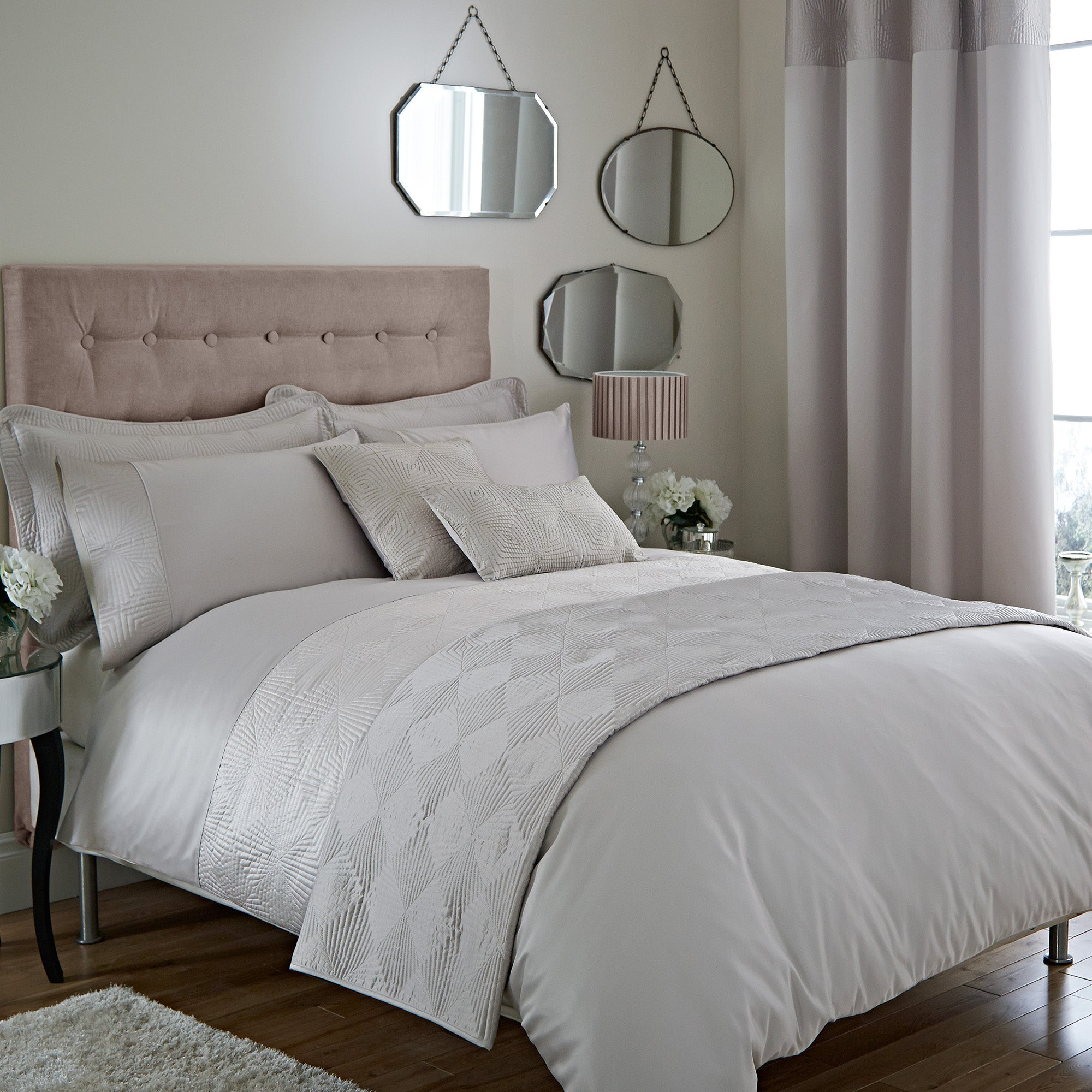 Jolie Natural Bed Linen Collection